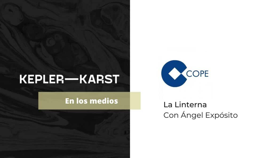 Luis Barber comenta en La Linterna (COPE) la moratoria concursal y su aplazamiento