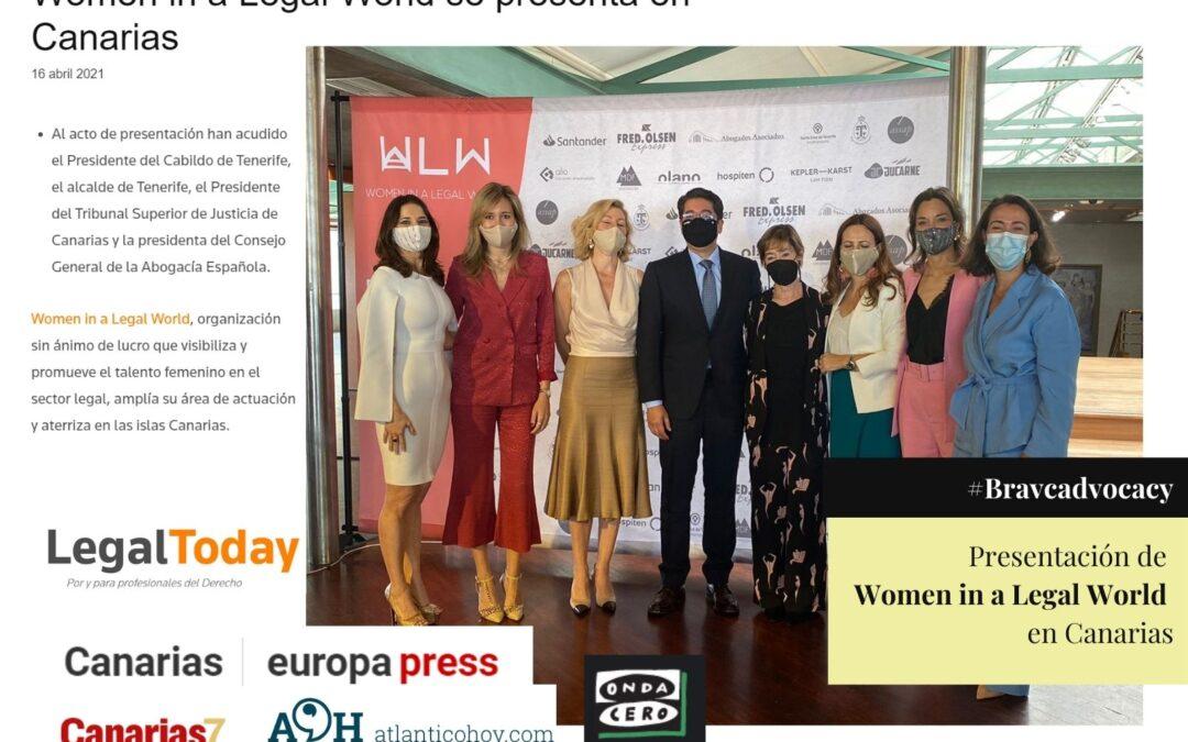 Los medios de Canarias se hacen eco de la llegada de WLW a las islas