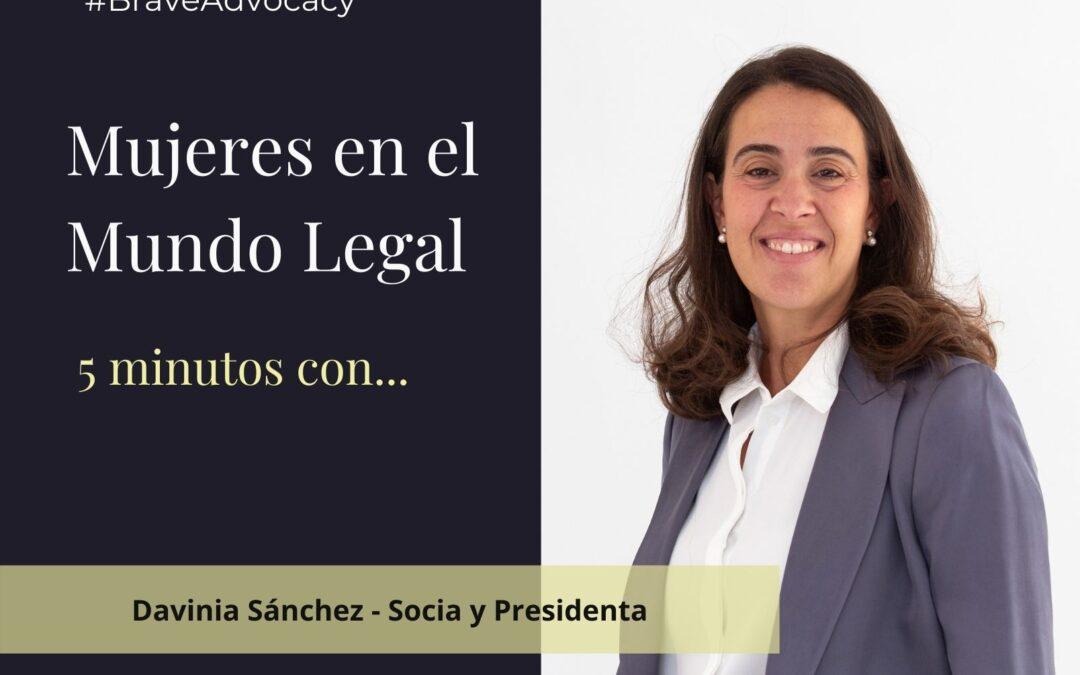 VÍDEO: 5 minutos con… Davinia Sánchez