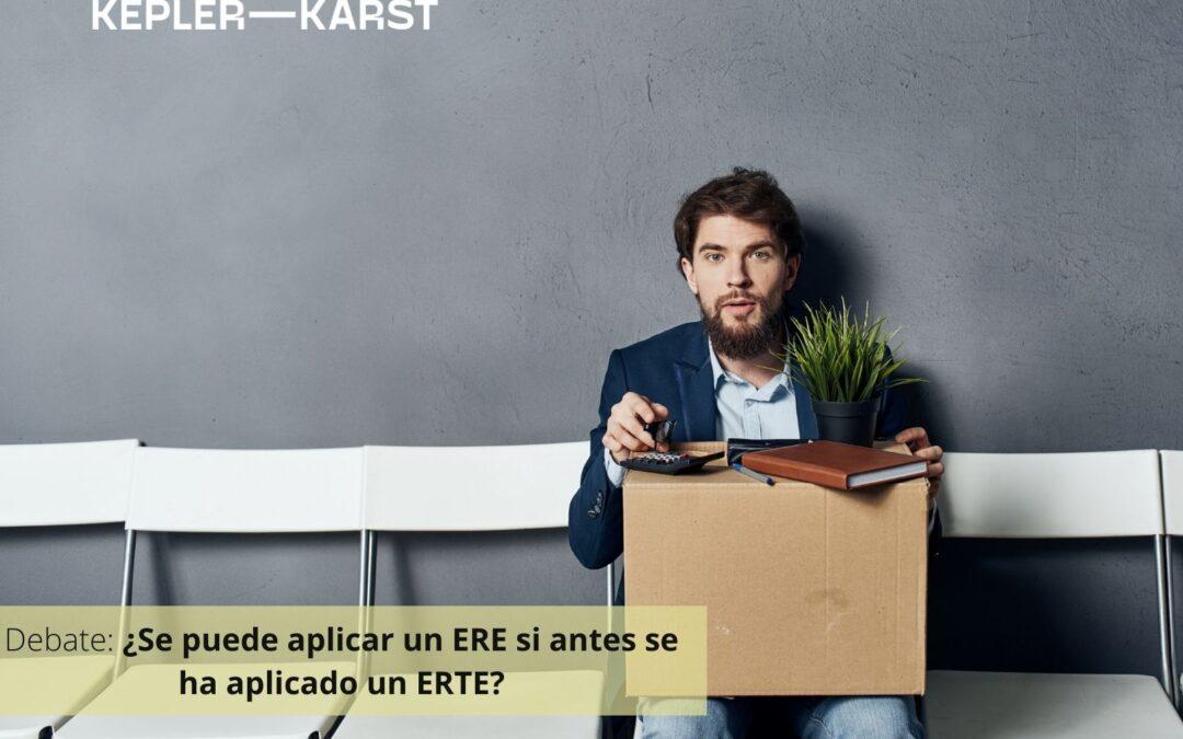 ¿Se puede aplicar un ERE si antes se ha aplicado un ERTE?