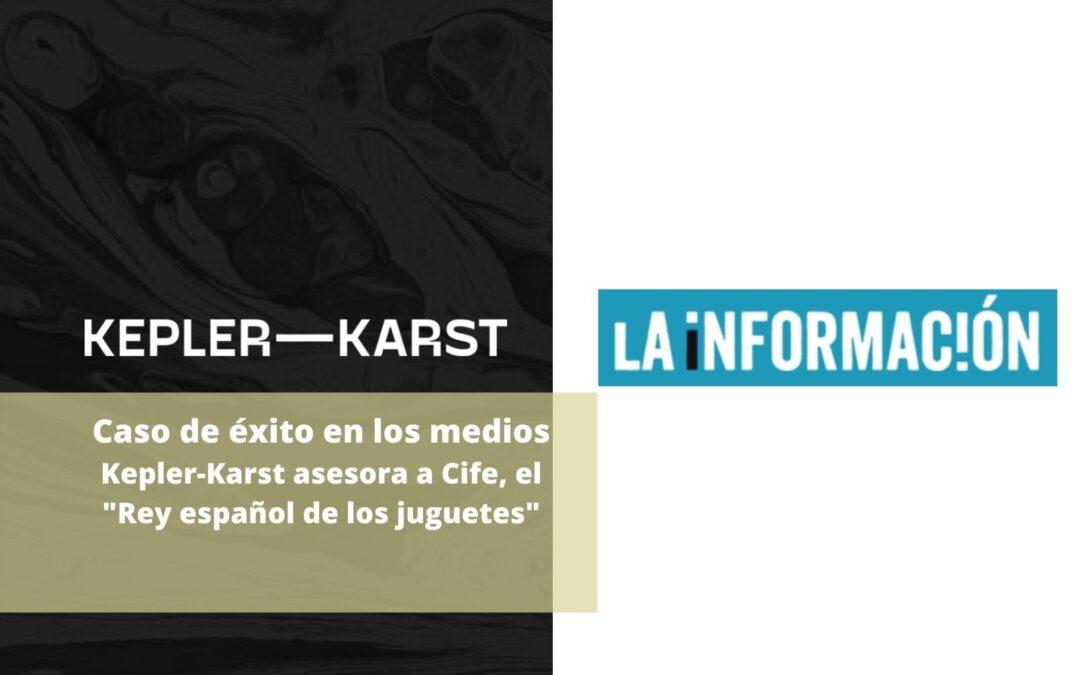 Kepler-Karst asesora la venta de la unidad productiva de CIFE Emotion