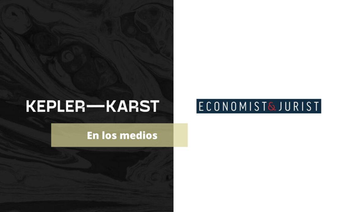 Economist and Jurist entrevista a nuestro nuevo Of Counsel Eduardo de Urbano