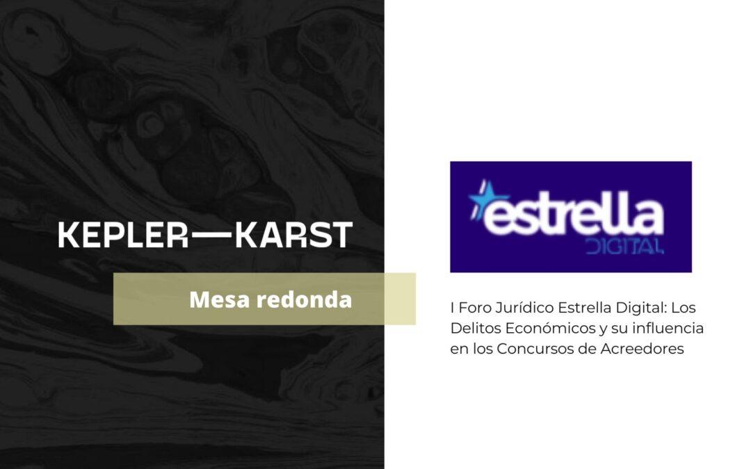 Eduardo de Urbano participa en el I Foro Jurídico Estrella Digital